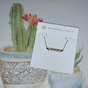 🌸Kendra Scott Anissa Bar Pendant Necklace New!